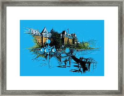 Victoria Art 002 Framed Print by Catf