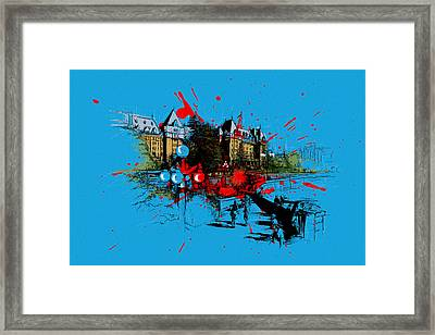 Victoria Art 003 Framed Print by Catf