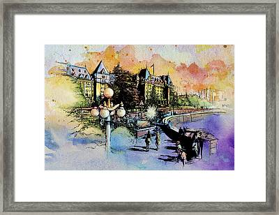 Victoria Art Framed Print by Catf