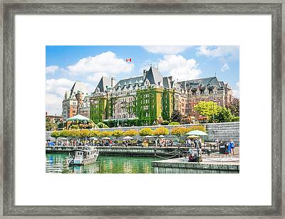 Victoria Framed Print by JR Photography