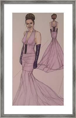 Victoria Renee's Fashions Framed Print by Vicki  Jones