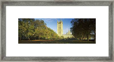 Victoria Tower At A Government Framed Print by Panoramic Images