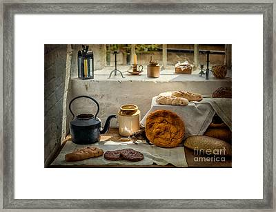 Victorian Bakery Framed Print by Adrian Evans