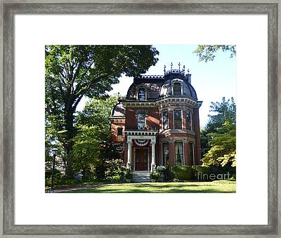 Victorian Beauty Framed Print by Luther   Fine Art