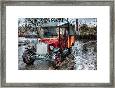 Victorian Car Replica  Framed Print by Adrian Evans