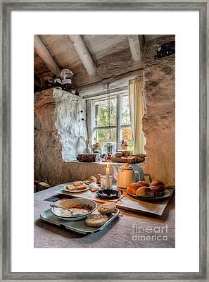Victorian Cottage Breakfast V.2 Framed Print by Adrian Evans