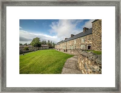Victorian Cottages Framed Print by Adrian Evans