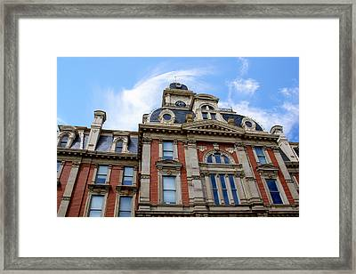 Victorian Courthouse Noblesville Indiana Framed Print by Purple Moon
