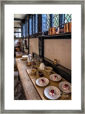 Victorian Desserts Framed Print by Adrian Evans