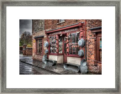 Victorian Hardware Store Framed Print by Adrian Evans