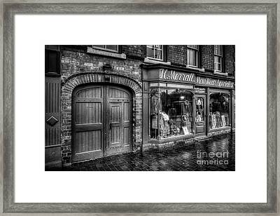 Victorian Menswear Framed Print by Adrian Evans