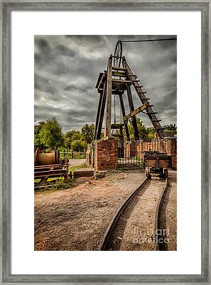 Victorian Mine Framed Print by Adrian Evans