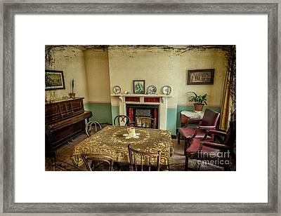 Victorian Room Framed Print by Adrian Evans