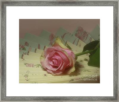 Victorian Rose Framed Print by Inspired Nature Photography Fine Art Photography