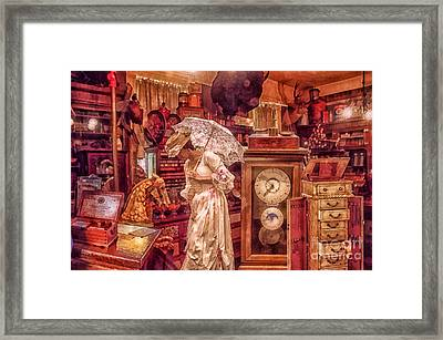 Victorian Shop Framed Print by Mo T