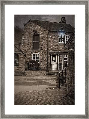 Victorian Stone House Framed Print by Amanda Elwell