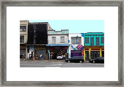 Victorratos Lustres - Sao Paulo Framed Print by Julie Niemela