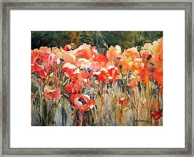 Victor's Longest Day Framed Print by Kris Parins