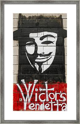 Victor's Vendetta Framed Print by Matt Create