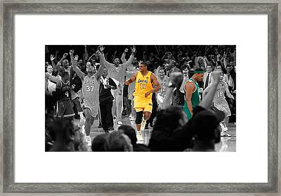 Victory And Defeat Framed Print by Brian Reaves