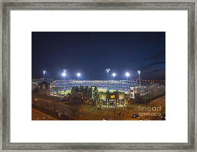 Victory Field 3 Framed Print by David Haskett