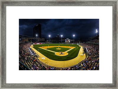 Victory Field Framed Print by Ron Pate