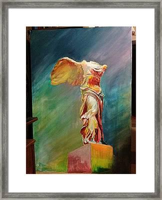 Victory Samothraki Framed Print by Charalampos Gkolfinopulos