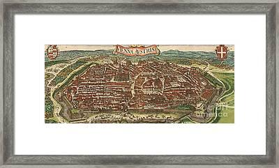 Vienna - Austria Framed Print by Roberto Prusso