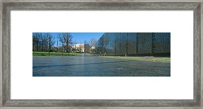 Vietnam Veterans Memorial, Washington Dc Framed Print by Panoramic Images