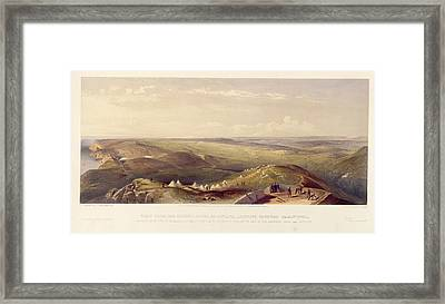 View Above Balaklava Framed Print by British Library