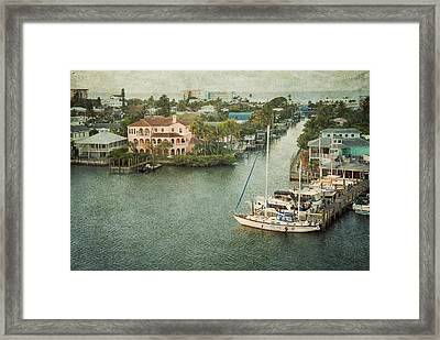 View At Fort Myers Beach - Florida Framed Print by Kim Hojnacki