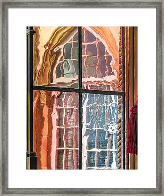 View From Another Window Framed Print by Carolyn Marshall