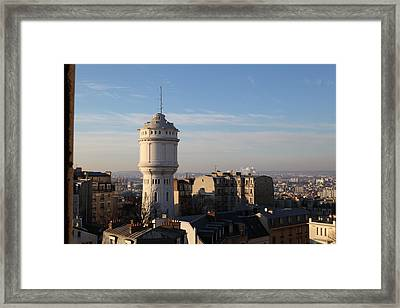 View From Basilica Of The Sacred Heart Of Paris - Sacre Coeur - Paris France - 01132 Framed Print by DC Photographer