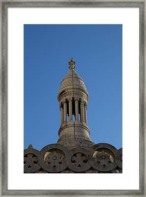 View From Basilica Of The Sacred Heart Of Paris - Sacre Coeur - Paris France - 01135 Framed Print by DC Photographer