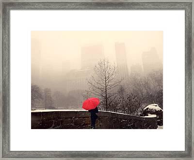 View From Gapstow Bridge Framed Print by Jessica Jenney