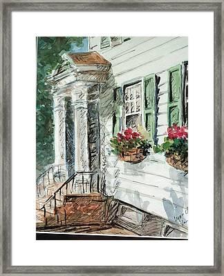View From Main Street Framed Print by Lynn Cheng-Varga
