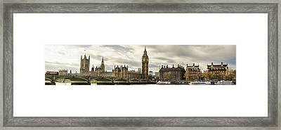 View From Southbank Framed Print by Heather Applegate