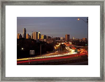 View From Sunnyvale Framed Print by Mark Weaver