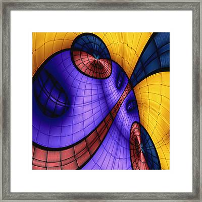 View From The Top 4 Framed Print by Wendy J St Christopher