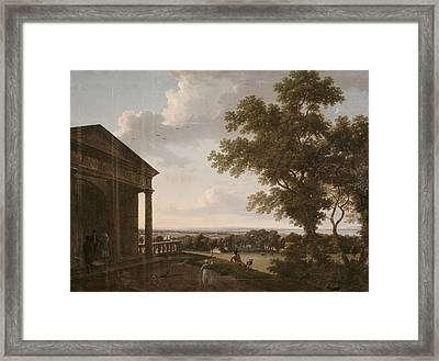 View In Mount Merrion Park, 1804 Framed Print by William Ashford