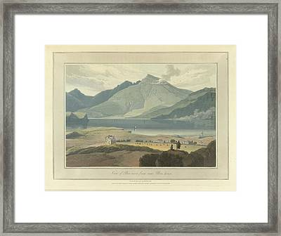 View Of Ben-more From Near Ulva House Framed Print by British Library