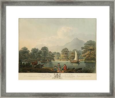 View Of Brydden And Moely Golfe Framed Print by British Library