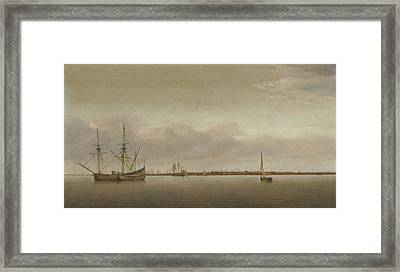 View Of Hoorn Framed Print by Celestial Images