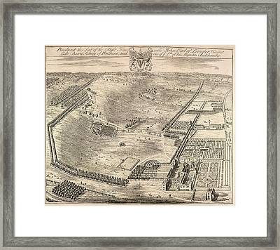View Of Penshurst Framed Print by British Library