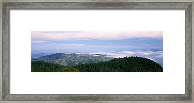 View Of San Francisco From Mt Framed Print by Panoramic Images
