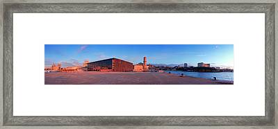 View Of The Palais Du Pharo, Fort Framed Print by Panoramic Images