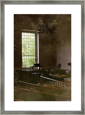 View Of The Past Framed Print by Marcia Lee Jones