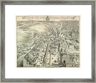 View Of Tunbridge Wells Framed Print by British Library