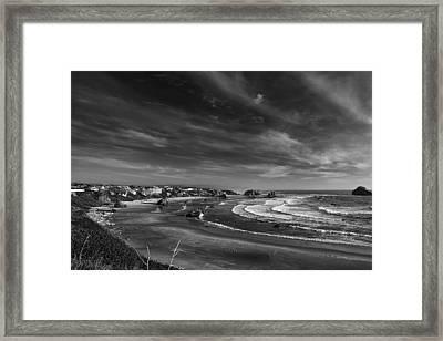 View Over Bandon Framed Print by Andrew Soundarajan