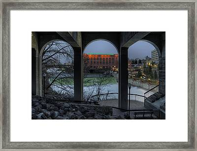 View Point Framed Print by Michael Gass